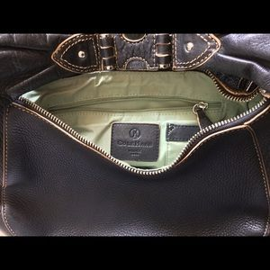 Cole Haan Black Leather Handbag Preowned